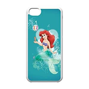 iPhone 5c Cell Phone Case White The Little Mermaid D2302179