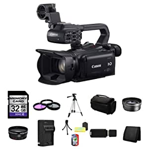 Canon XA20 Professional HD Camcorder 32GB Package 3