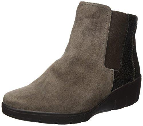 Semler Judith, Zapatillas de Estar por Casa para Mujer Beige - Beige (867 Fango-platin)