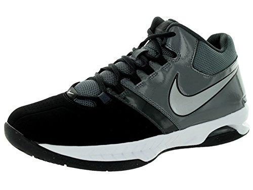 Nike Mens Air Visi Pro V Basketball Shoes, Noir/Gris/Anthracite/Argent m?tallis, 46 D(M) EU/11 D(M) UK
