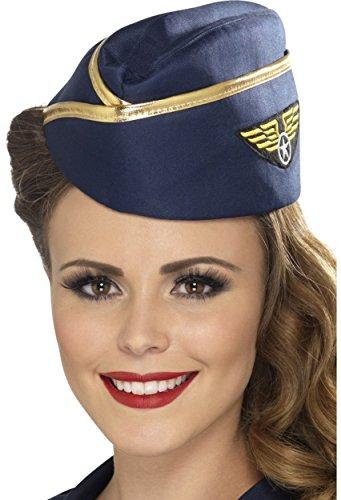 Smiffys Air Hostess Hat]()