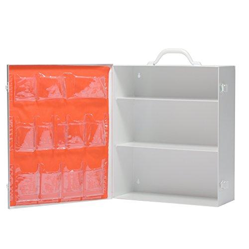 Empty First Aid Box 3 Shelf With First Aid Logo