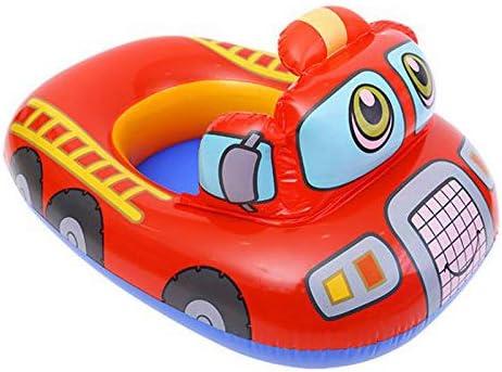 Verintex Let Me Sit Camión de Bomberos Inflable para niños de 1 a ...