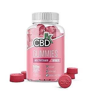 CBDfx Women's Multivitamin CBD Gummies (60 G...
