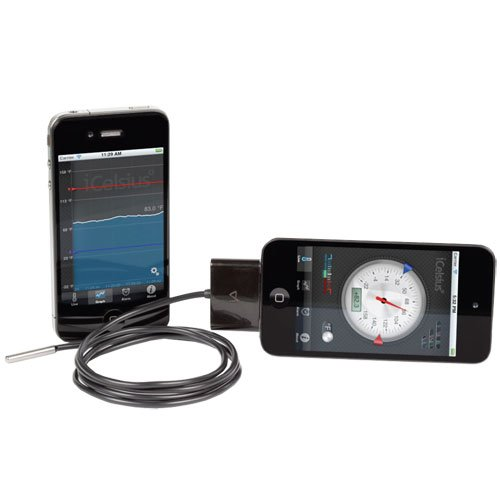 Aginova iCelsius Digital Thermometer iPhone product image