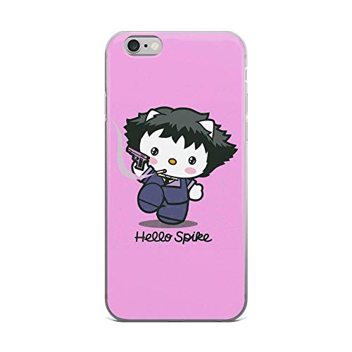 iPhone 6 Plus/6s Plus Pure Clear Case Cases Cover Hello Spike Funny Cute Cartoon]()