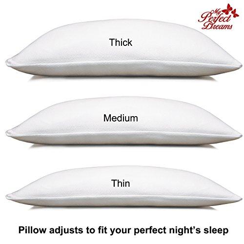 Adjustable Shredded Memory Foam Pillow Sleep Like A Baby