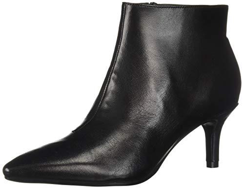 Aerosoles Women's Epigram Ankle Boot, Black Leather, 8.5 M US