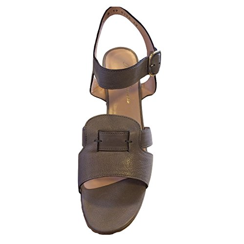 Colchic Pale Leather Robert Sandals Clergerie Mouse Grey 5wqnnS8HT