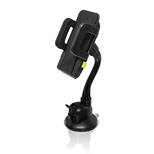 Bracketron TekGrip Universal Smartphone Car Window Mount Phone Holder Hands Free Compatible iPhone X 8 Plus 7 SE 6s 6 5s 5 Samsung Galaxy S9 S8 S7 S6 S5 Note Google Pixel 2 XL LG Sony Nokia BT1-642-2