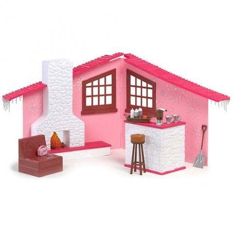 - Bratz Pink Winter Dream Cabin