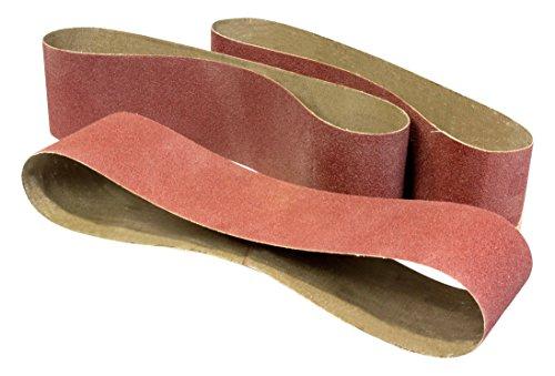 """WEN 6502SP3 240-Grit 4 x 36"""" Belt Sander Sandpaper"""