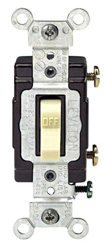 Lighted Quiet Single Pole Switch