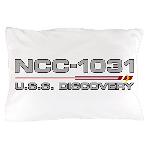 CafePress - USS Discovery - Grey Hull Edition - Standard Size Pillow Case, 20