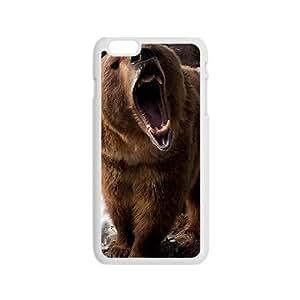 Snow Bear Custom Protective Hard Phone Cae For Iphone 6