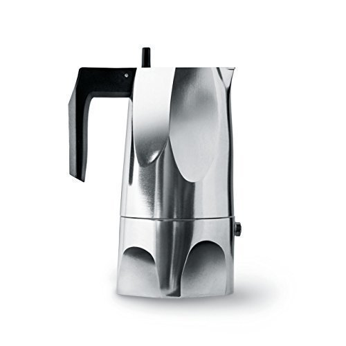 Alessi Ossidiana Espresso Coffee Maker (3 Cup)