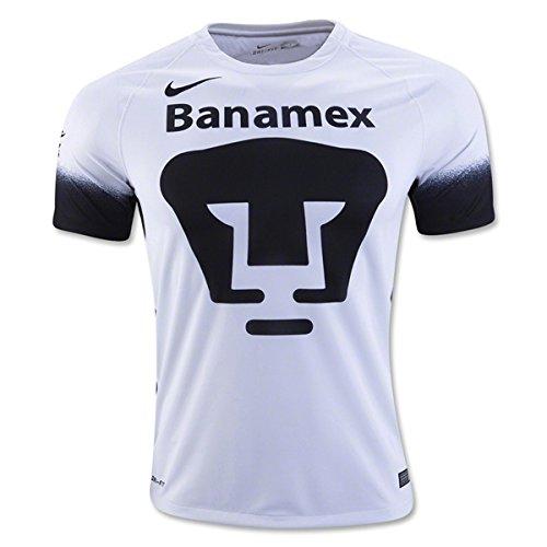 Nike mens PUMAS SS DECEPT STADIUM Jersey 709530-106_2XL - FOOTBALL WHITE/BLACK/BLACK ()