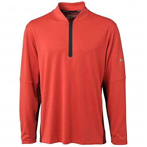 Nike Men's Dri-Fit Wool Tech Cover-Up - Large - Action Red