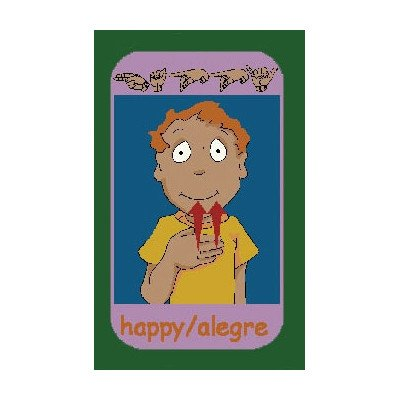 Educational Signs of Emotions Kids Rug Rug Size: 10'9