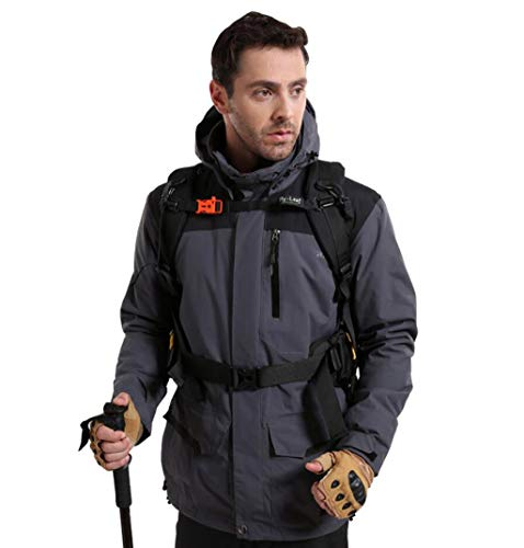 Abbigliamento Abbigliamento One da da ZJEXJJ Turismo in Gray da Giacca Impermeabile Uomo Montagna Giacca Antivento Invernale Trekking Cotone Caldo Colore Dimensioni da Alpinismo Fodera di da L in Tre zTrqxUznv