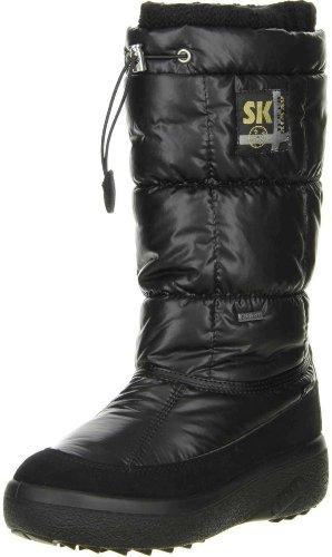 Vista Damen Winterstiefel Snowboots (11-12452) schwarz, Größe:40;Farbe:Schwarz