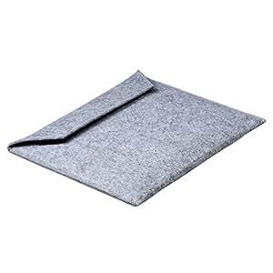 Switch! SEPPL - Funda para tablet (fieltro, cierre adhesivo de noTrash2003), color gris