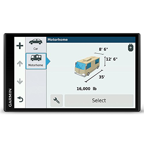 Garmin Camper 770LMT-D 6.95 Inch Sat Nav with Full Europe Lifetime Maps, Free Lifetime Digital Traffic, Bluetooth and Wi-Fi, Black