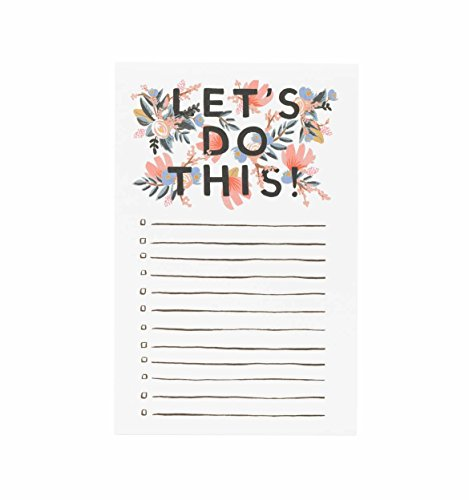 "Rifle Paper Co. ""Let's Do This"" Notepad"