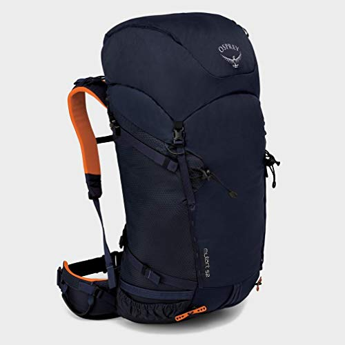 - Osprey Packs Mutant 52 Mountaineering Pack, Blue Fire, Medium/Large