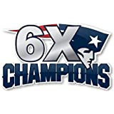 Football 2019 Super Bowl 53 LIII Patriots 6X Champions Jacket PATCHPRE Order Item Shipping Begins February 23RD