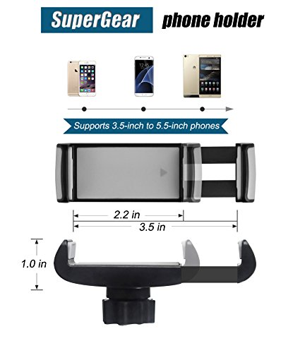 Car Mount Universal Windshield Phone Mount Car Holder Car Phone Mount Car Cell Phone Holder With Strong Suction Cup For IPhone X 8 Plus 7 Plus Samsung Galaxy S8 S6 LG Nexus Sony GPS Device And More