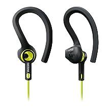 Philips SHQ1400CL ActionFit Sport Headphone SHQ1400 Carbon Lime
