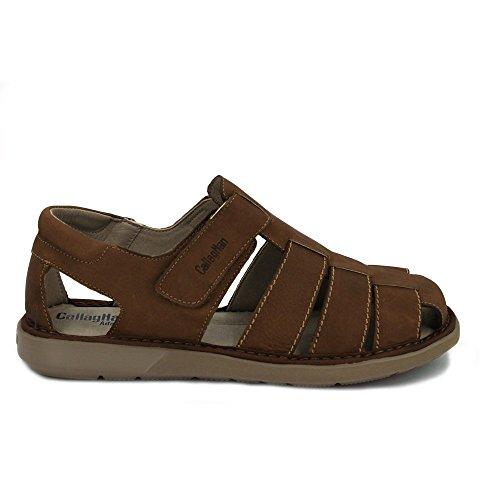 punta chiusa 92300 sandali marrone con Callaghan 6vzq0xfW