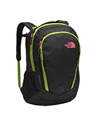 The North Face The Vault Backpack - Women's - black emboss/calypso coral, one size