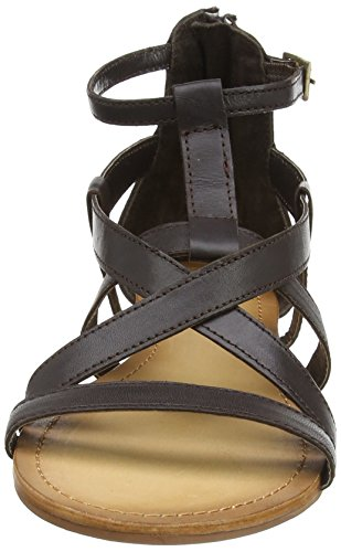 Brown Sandalias Leather Para Sandal Tantra Strap Mujer 7Ypqwg