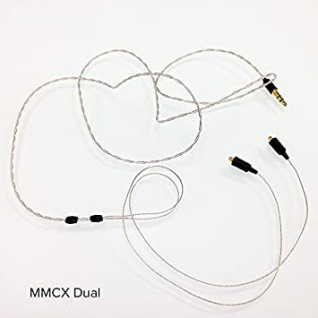 Linum Ultra Thin Bax 3 5mm Trs Cable With Mmcx Connector Amazon Co