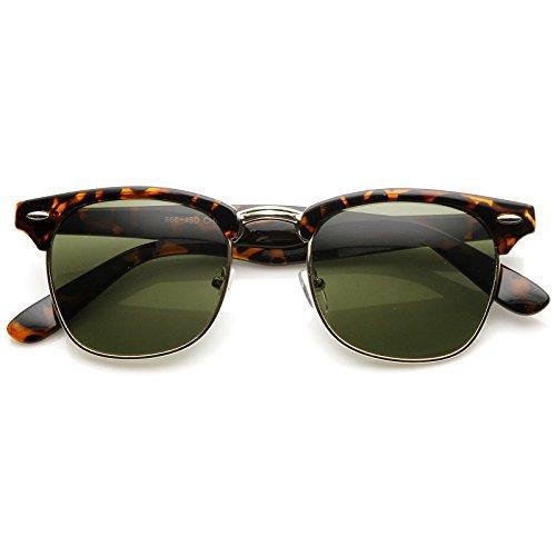 MLC Eyewear Retro Clubmaster Style Vintage Fashion - Sun Glasses Tomford