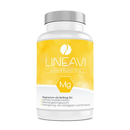LINEAVI Magnesium Citrate | 375 mg Magnesium per Daily dose | Supports...
