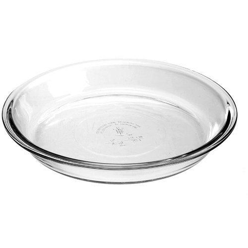 Anchor Hocking 67301L11 Glass Pie Dish, Set of 2