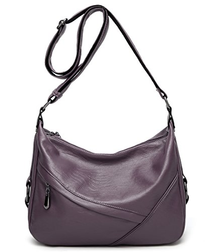 Shoulder Handbag Big Leather Purse Tote Purple PU Bags Women Bag Molodo gUqIF0
