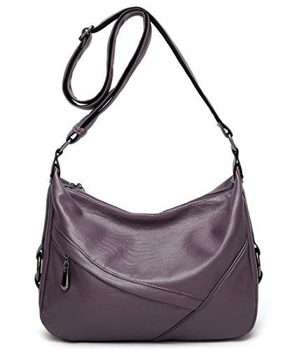 Purple Hobo Handbag - 6