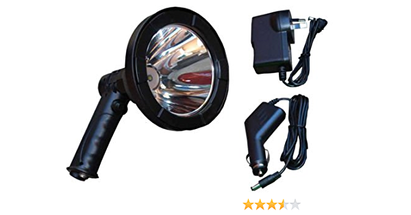 White LED Spot Light Car Charger Portable LED Work Light Camping Travel Vehicle