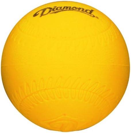 Diamond Foam Baseball Size Practice Balls Dozen