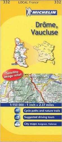 Mapa Local Drôme, Vaucluse (Mapas Local Michelin): Amazon.es ...