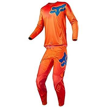 abed9b74a Fox Racing 2018 360 Viza Combo Jersey Pants Adult Mens MX ATV Offroad  Dirtbike Motocross Riding Gear Orange