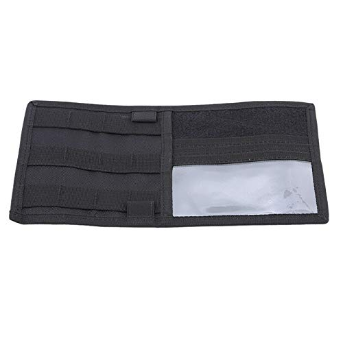MOPOLIS Sun Visor Panel Pass Car Visor Organizer Portable Storage Bag Pouch Black LS (Color - Black) ()