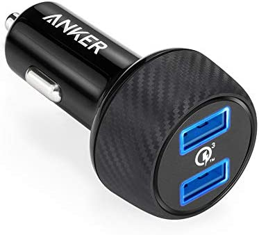 Anker Quick Charge 3 0 39w Ultra Compact 2 Port Car Charger Powerdrive Speed 2 For Samsung Galaxy S6 S6 Edge S6 Edge S7 S7 Edge With Poweriq For Iphone 7 7 Plus 6s 6s Plus 6 6 Plus Buy Online At Best Price