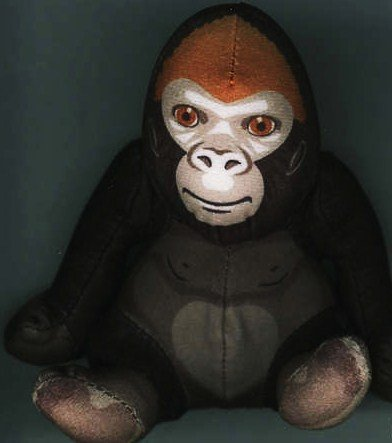 - Burger King 2003 Endangered Species Gorilla Tou