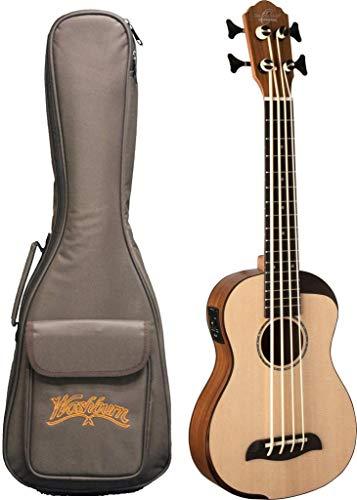 Oscar Schmidt Comfort SerOscar Schmidt Comfort Series Bass Ukulele, SpruceTop, Koa Back & Sides