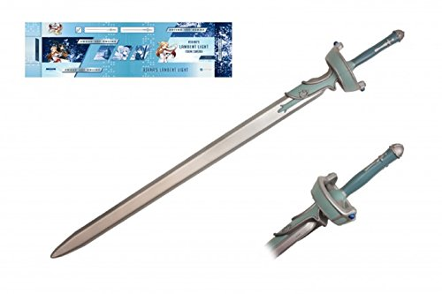 [Asuna's Lambent Light Foam SOA Sword Art Online Official Licensed Cosplay New] (V The Series Costumes)